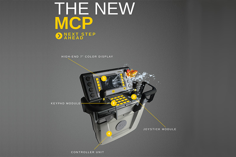MCP controller for working platforms